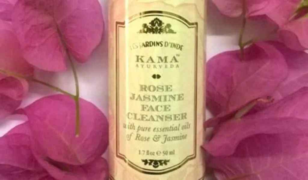 ama Ayurveda Rose Jasmine Face Cleanser 3