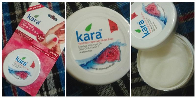 Kara Nail Polish Remover Rose
