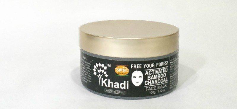 Khadi Activated Bamboo Charcoal Mask