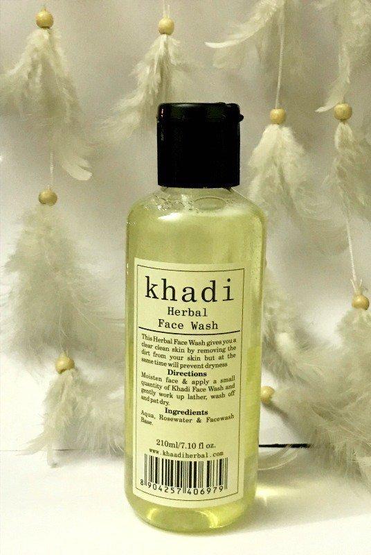 Khadi Herbal Face wash