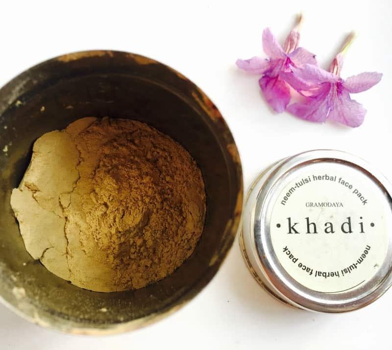 Khadi Natural Neem Tulsi Herbal Face Pack 2