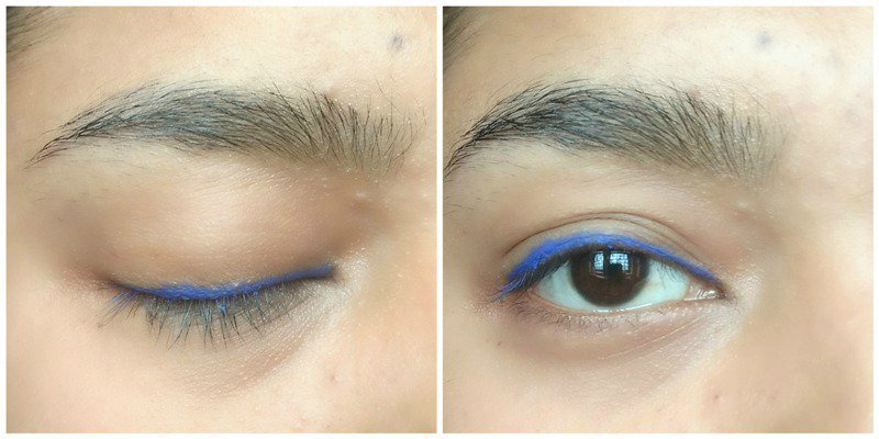 L Oreal Infallible Eyeliner Silikissime Cobalt Blue 4