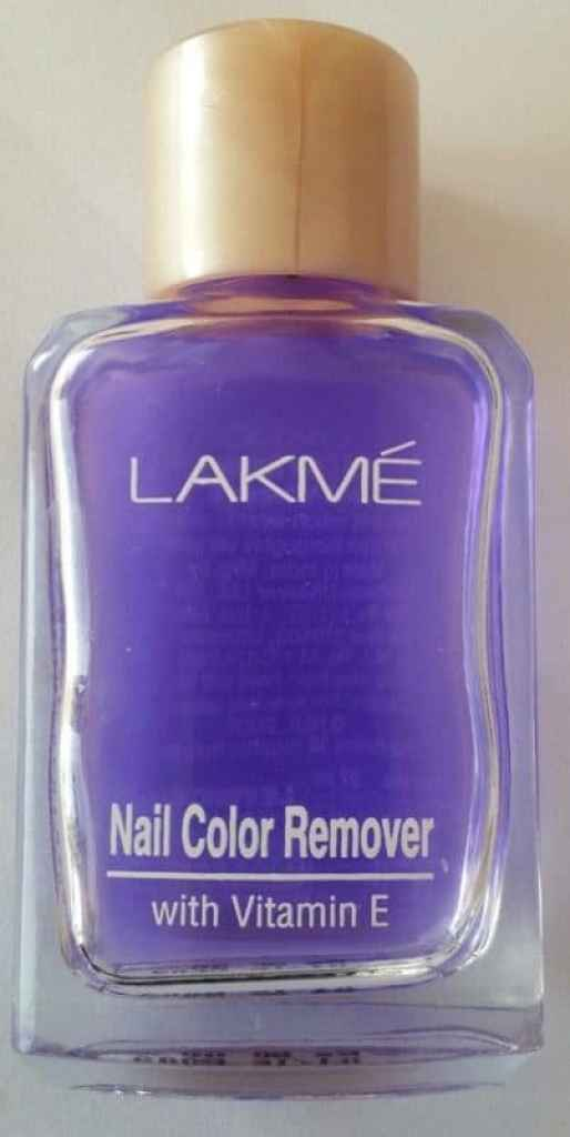 Lakme Nail Colour Remover with Vitamin E Review