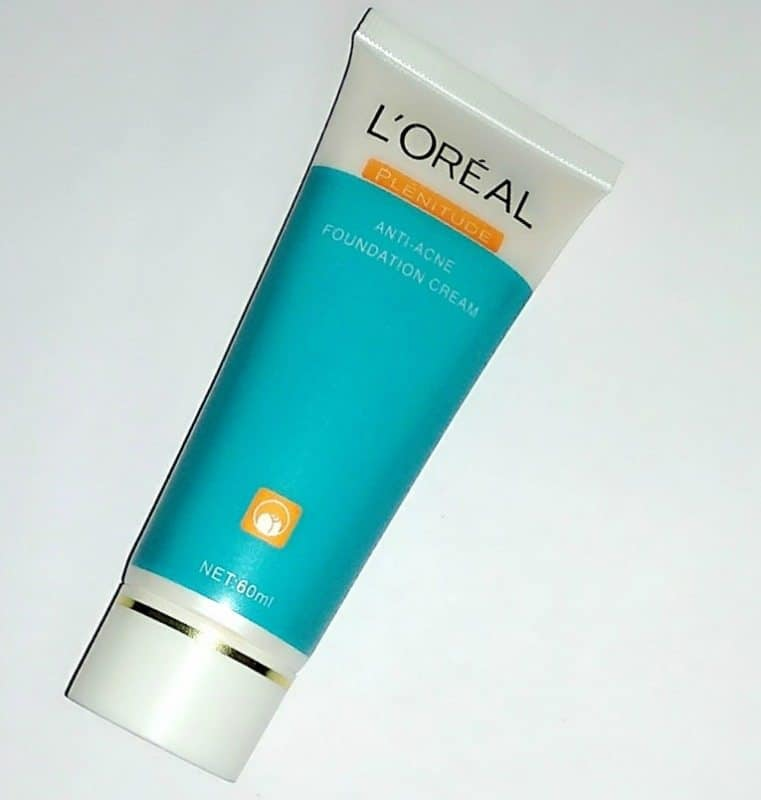 Loreal Anti-Acne Foundation Cream