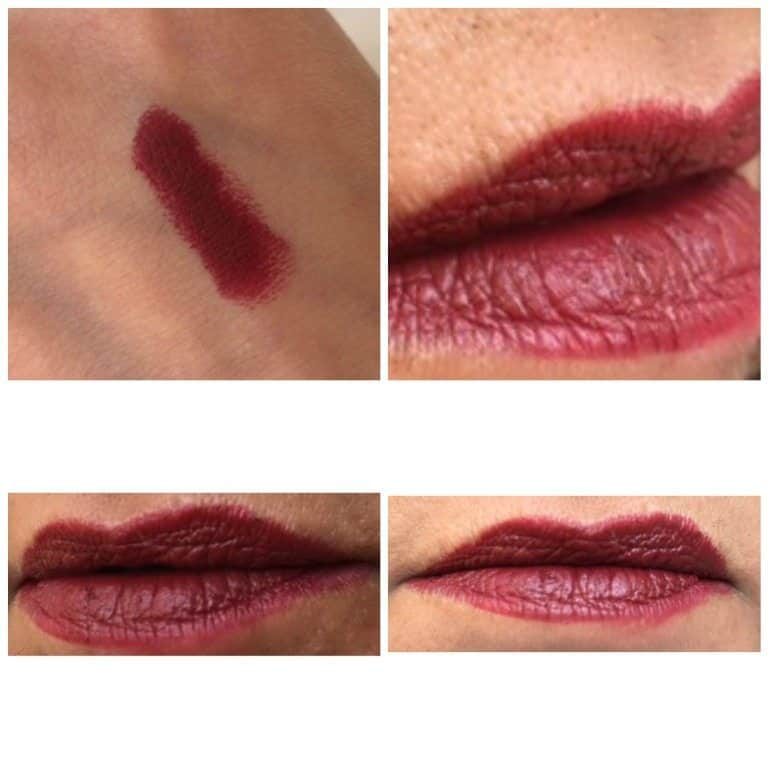 MAC Diva Matte Lipstick Review 4