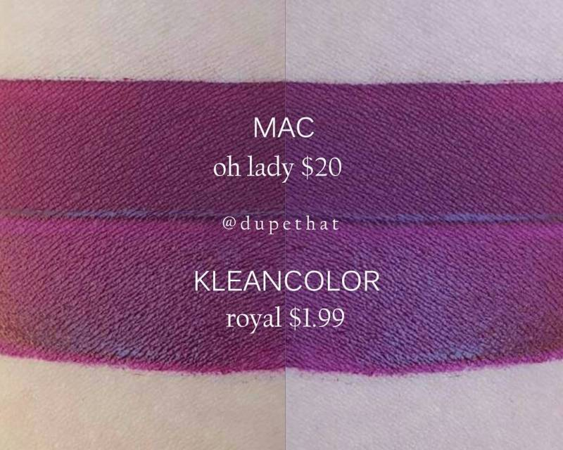 MAC Oh Lady Dupes