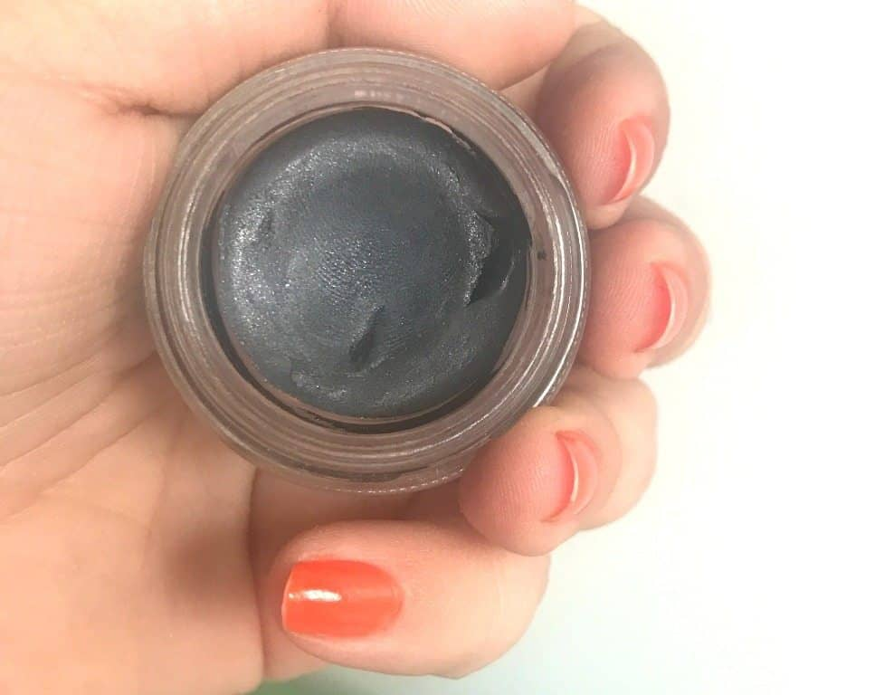 MAC Pro Longwear Paint Pot Blackground Review 4