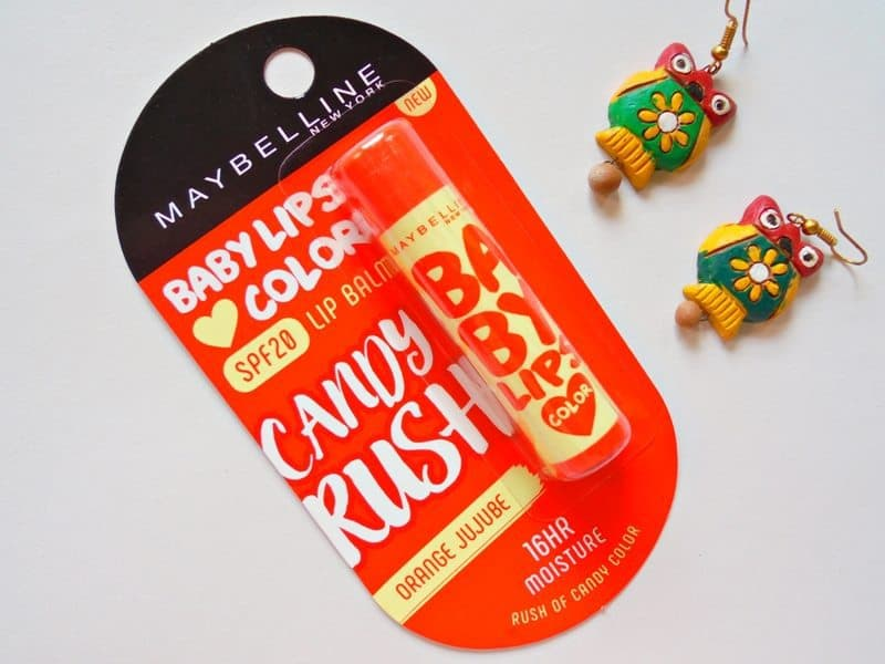 Maybelline Baby Lips Candy Rush Orange Jujube Review 2