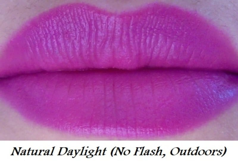 Maybelline Color Jolt Matte Intense Lip Paint 07 Vanity Violet Review 4