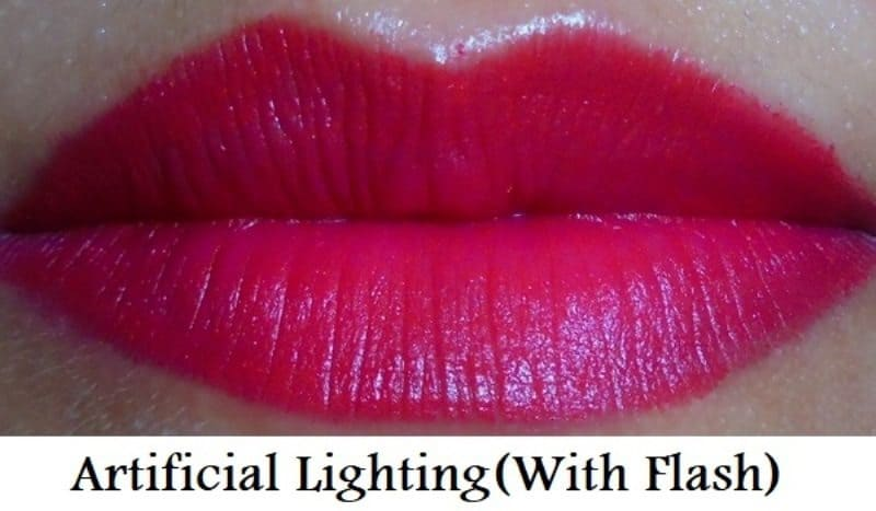 Maybelline Colorshow Bright Mattes Lipstick Brilliant Red M214 8