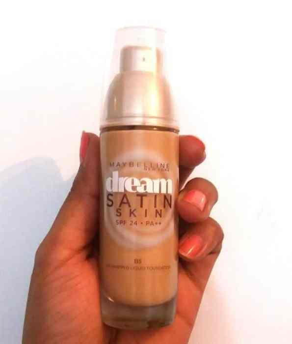Maybelline Dream Satin Skin Foundation Review