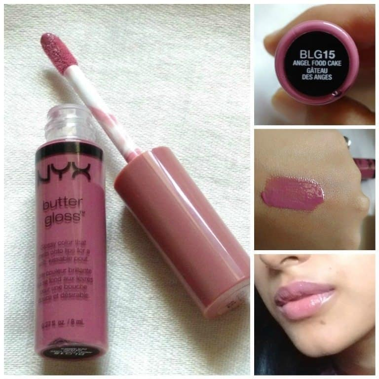NYX Angel Food Cake Butter Gloss 7