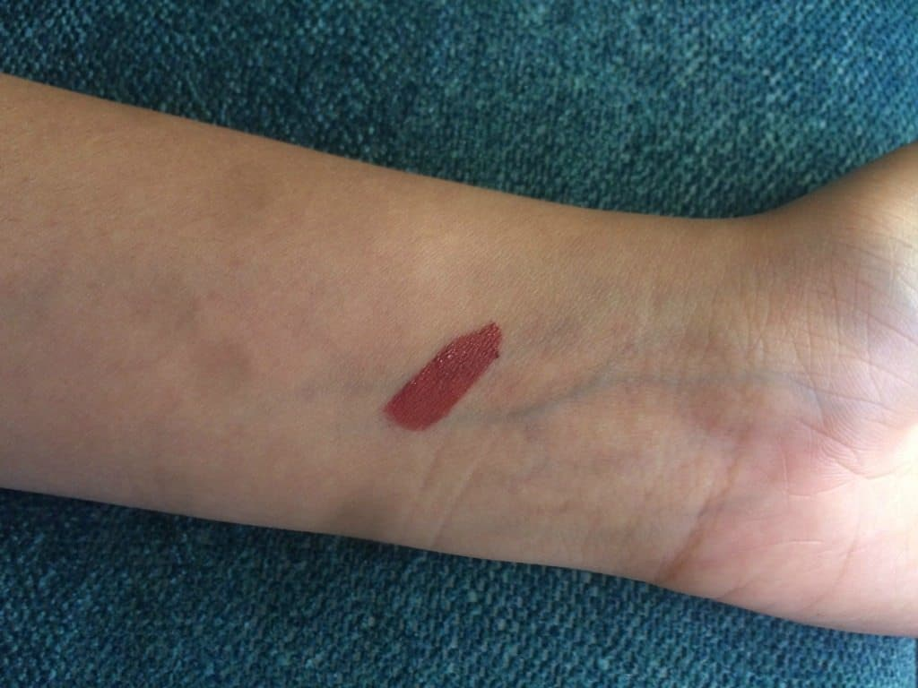 NYX Lip Lingerie Exotic Review 3
