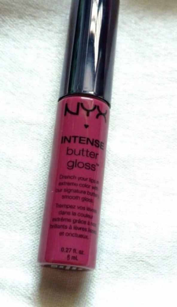 NYX Toasted Marshmallow  Intense Butter Gloss Review