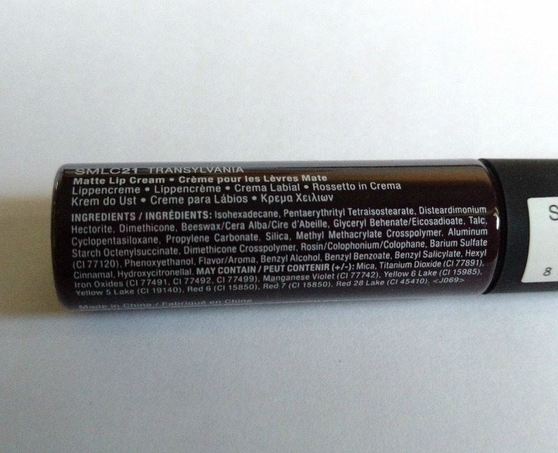 NYX Transylvania Soft Matte Lip Cream 1