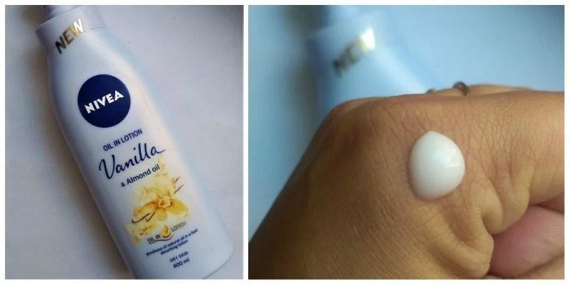 Nivea Vanilla And Almond Oil Body Lotion Review