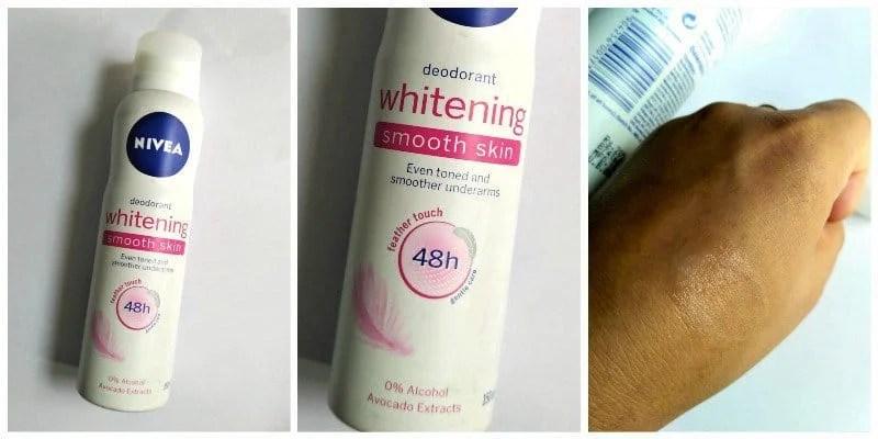 Nivea Whitening Deodorant Smooth Skin