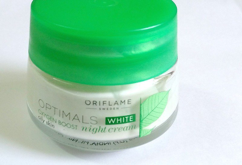 Oriflame Optimals White Oxygen Boost Night Cream 2
