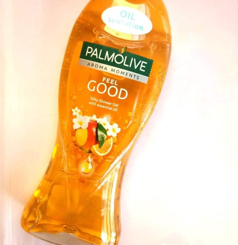 Palmolive Aroma Sensations Shower Gel Feel Good Review 1