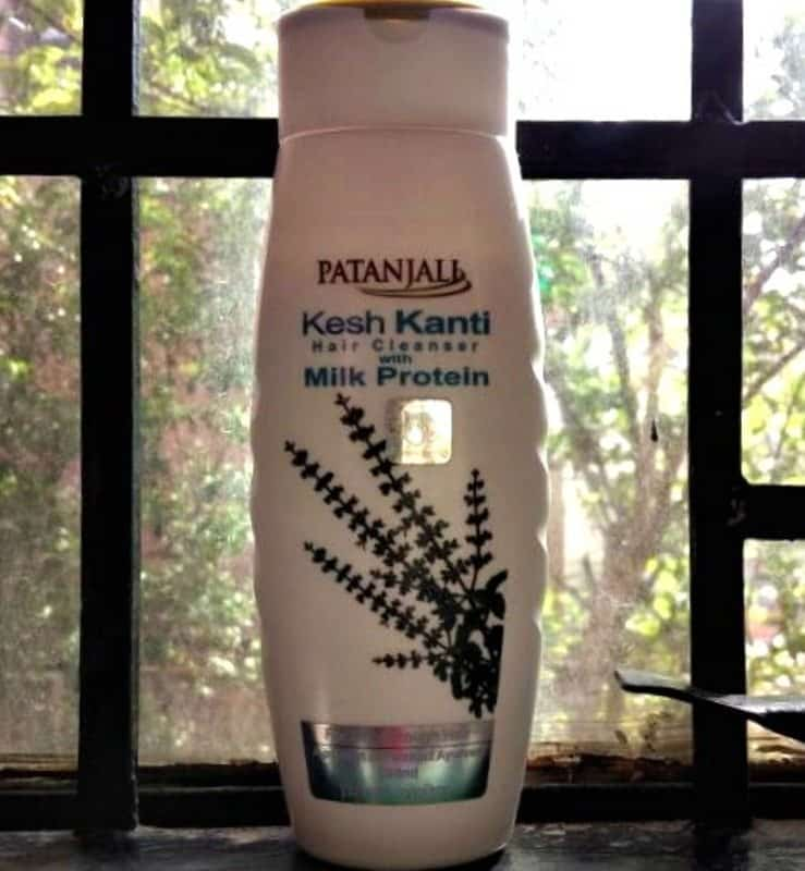Patanjali Kesh Kanti Hair Cleanser with Milk Protein Review