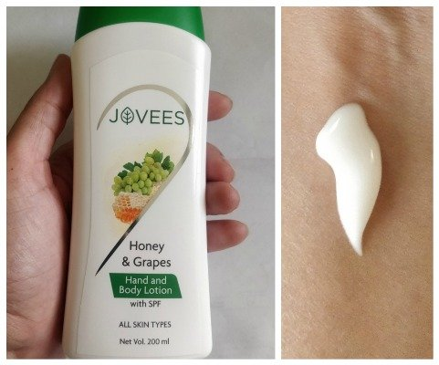 Jovees Honey and Grapes Hand and Body Lotion