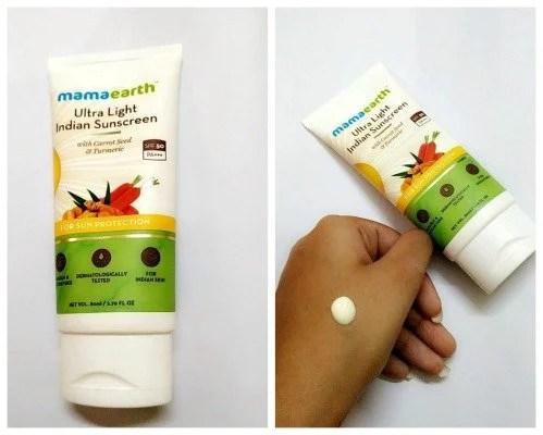 Mamaearth Ultra Light Indian Sunscreen