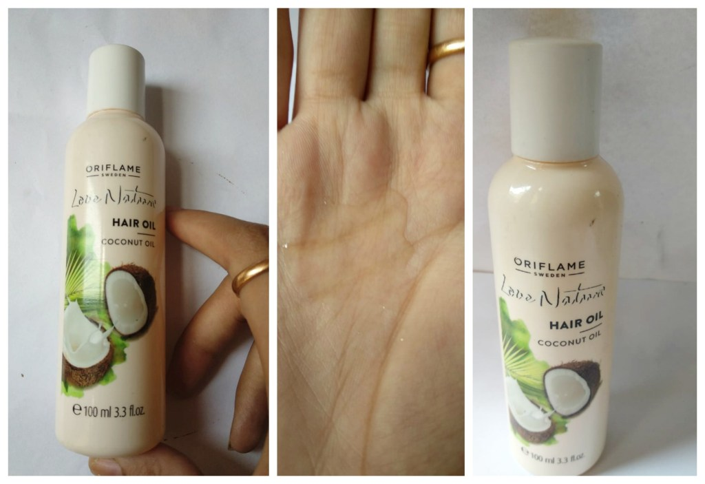 Oriflame Love Nature Coconut Hair Oil