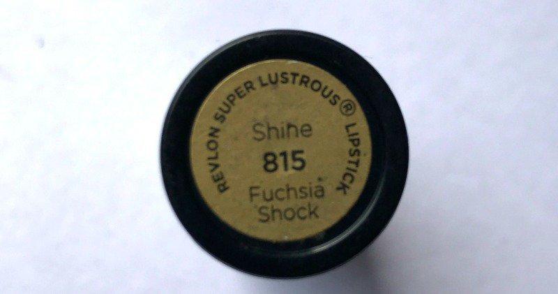Revlon Super Lustrous Lipstick Fuchsia Shock 1