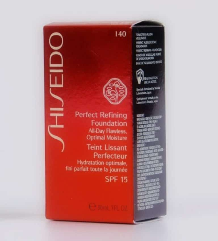 Shiseido Perfect Refining Foundation Review 3