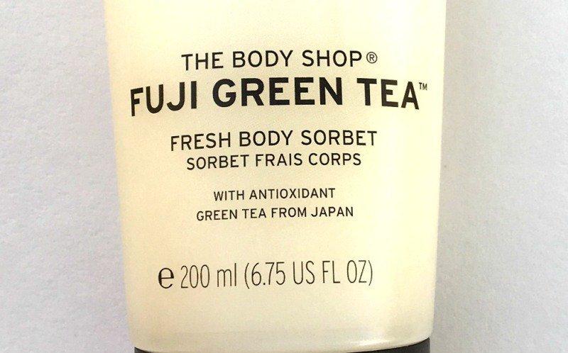 The Body Shop Fuji Green Tea Fresh Body Sorbet