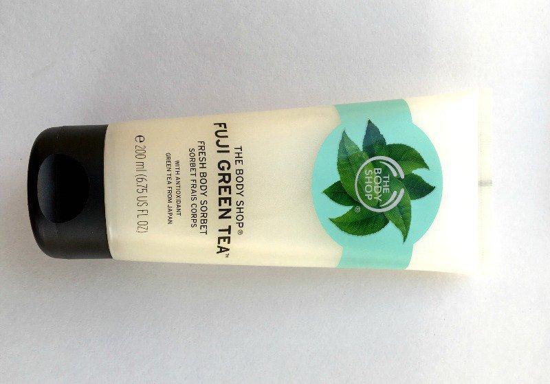 The Body Shop Fuji Green Tea Fresh Body Sorbet 4