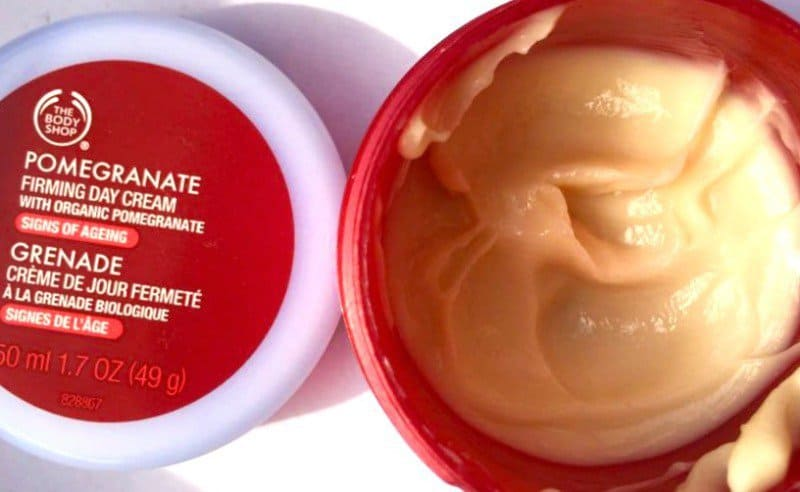 The Body Shop Pomegranate Firming Day Cream 1