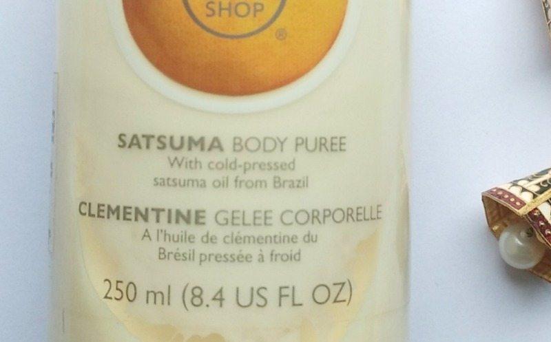 The Body Shop Satsuma Body Puree 1