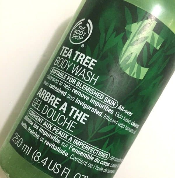 The Body Shop Tea Tree Body Wash Is 3