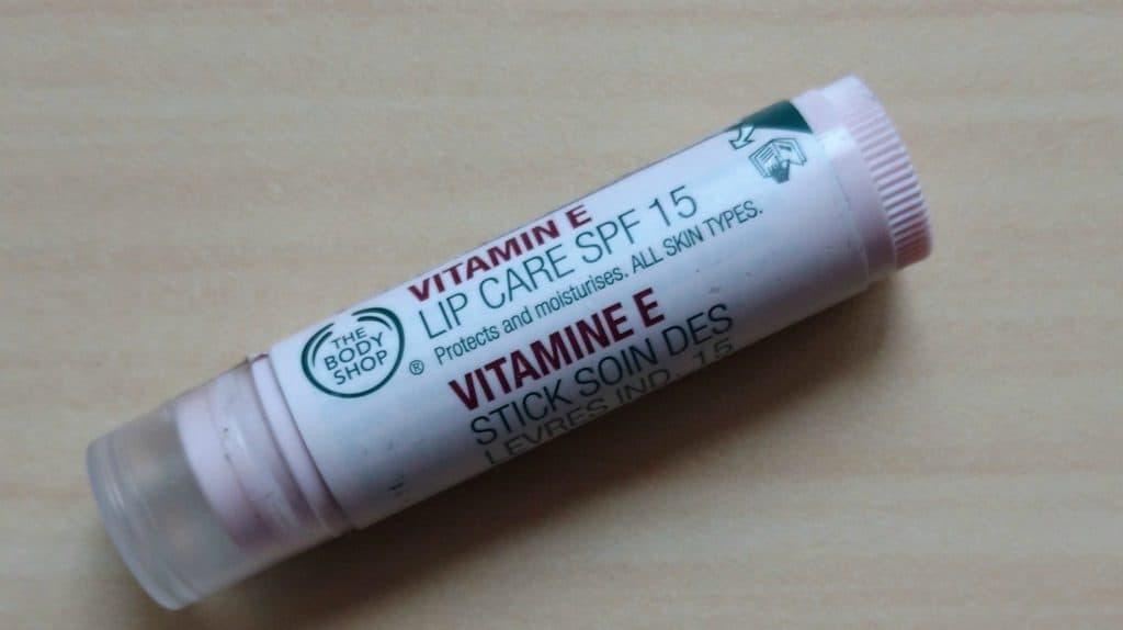 The Body Shop Vitamin E Lip Balm Review