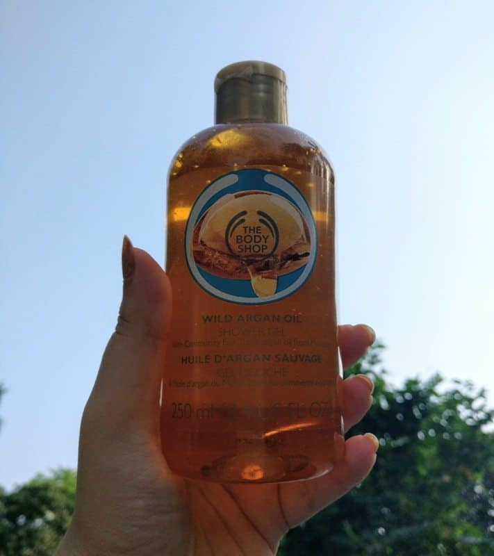 The Body Shop Wild Argan Oil Shower Gel Review