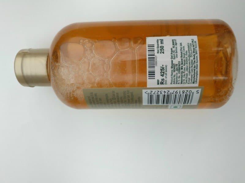 The Body Shop Wild Argan Oil Shower Gel Review 2