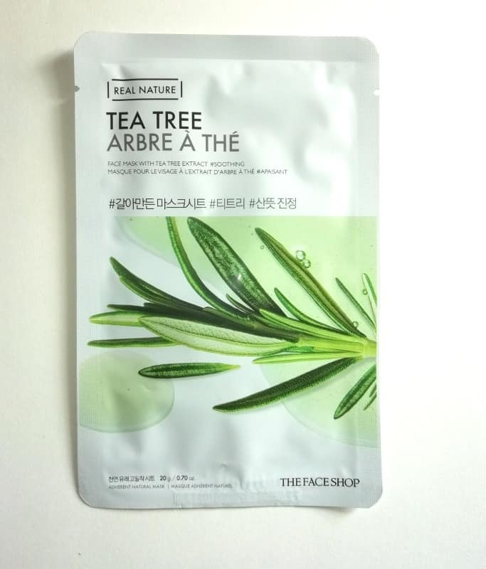 The Face Shop Mask Tea Tree