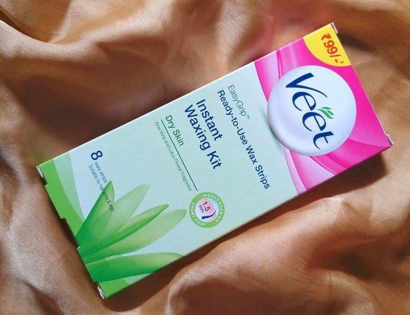 Veet Instant Waxing Kit For Dry Skin 3
