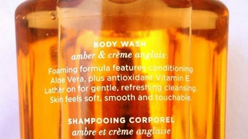Victoria's Secret Amber Romance Body Wash 2