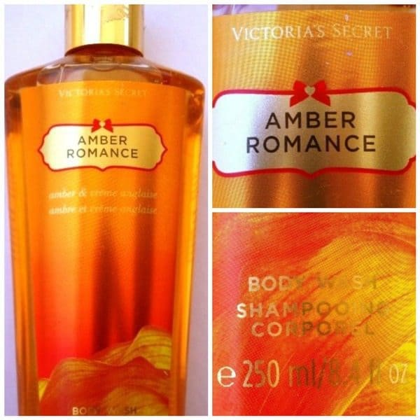 Victoria's Secret Amber Romance Body Wash