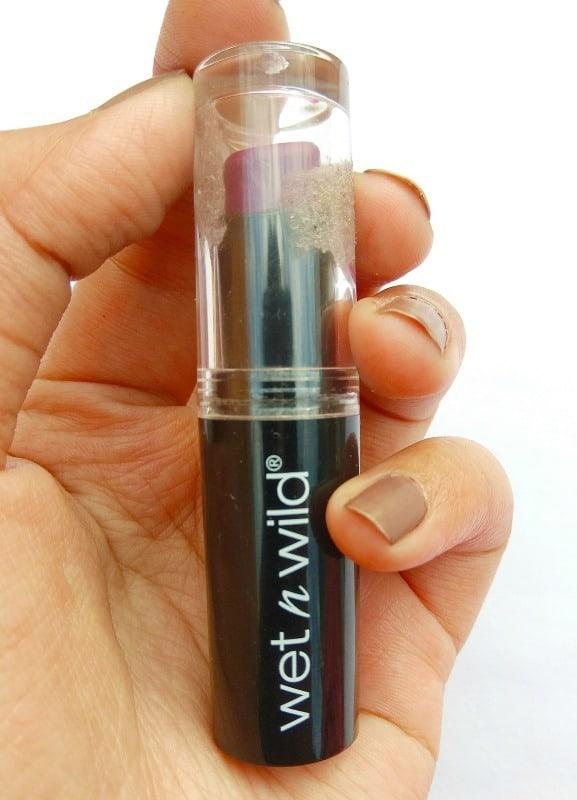 Wet n Wild MegaLast Lip Color Sugar Plum Fairy 3