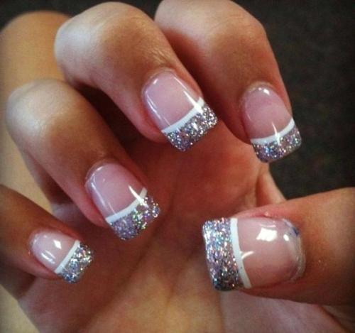 You Will Love these French Manicure Ideas 2019 ! 7