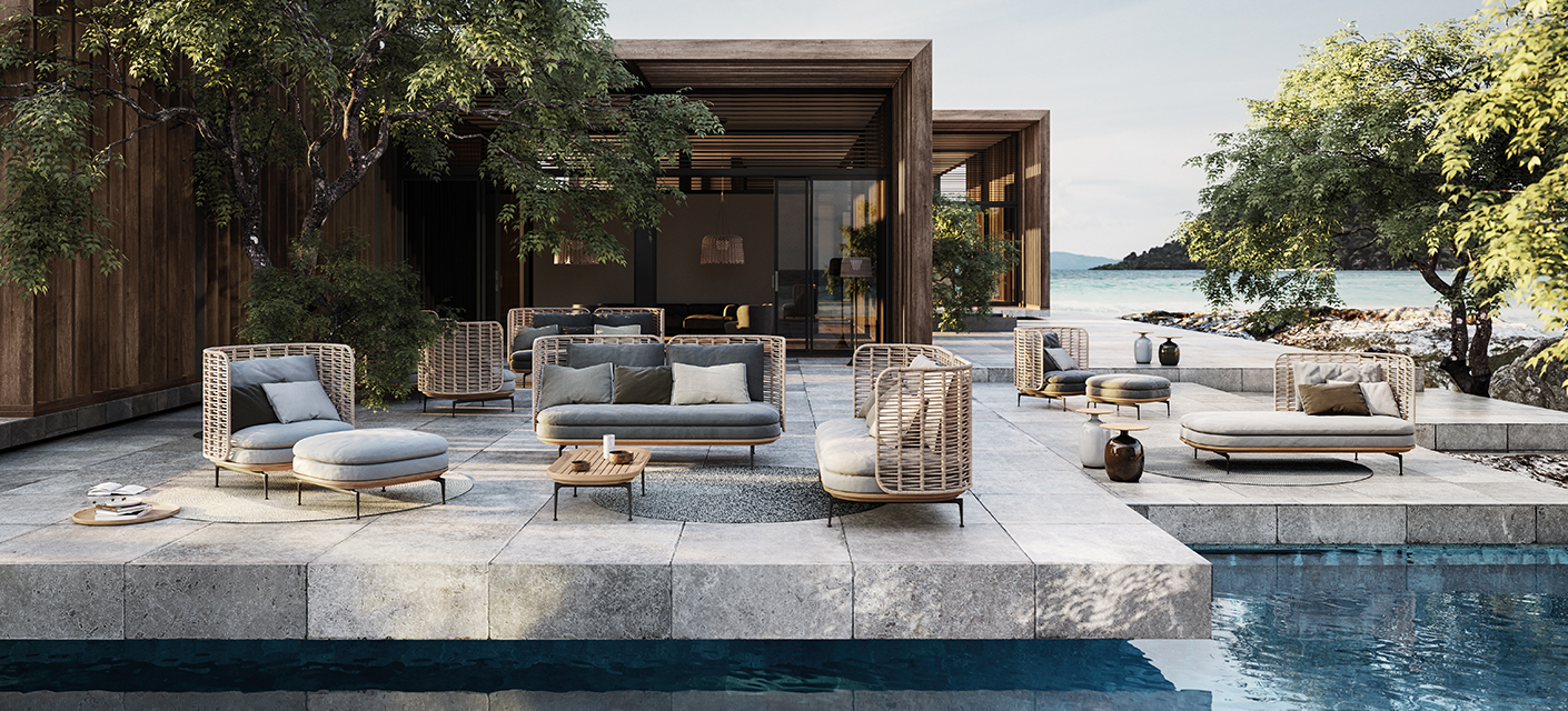 teak furniture modern luxury outdoor