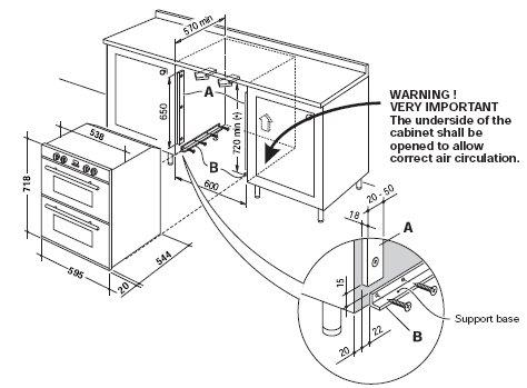 cooker wiring diagrams uk tekonsha 7894 diagram electric oven installation amp built in guide for under double