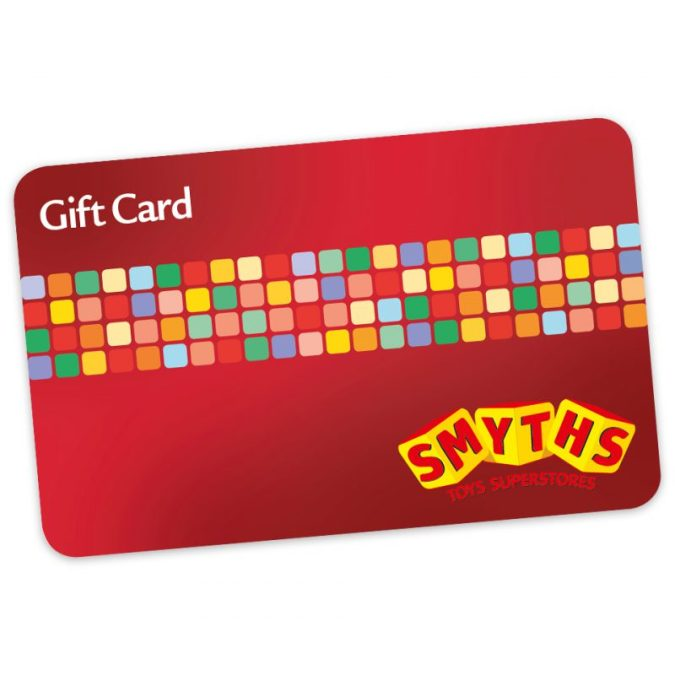 WIN £25 SMYTHS Toy Superstores GIFT CARD