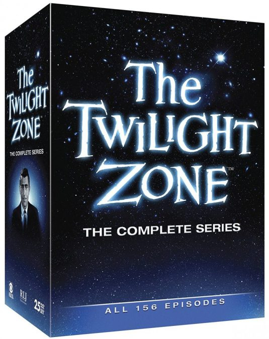 The Twilight Zone Complete Collection available on DVD & Blu-ray