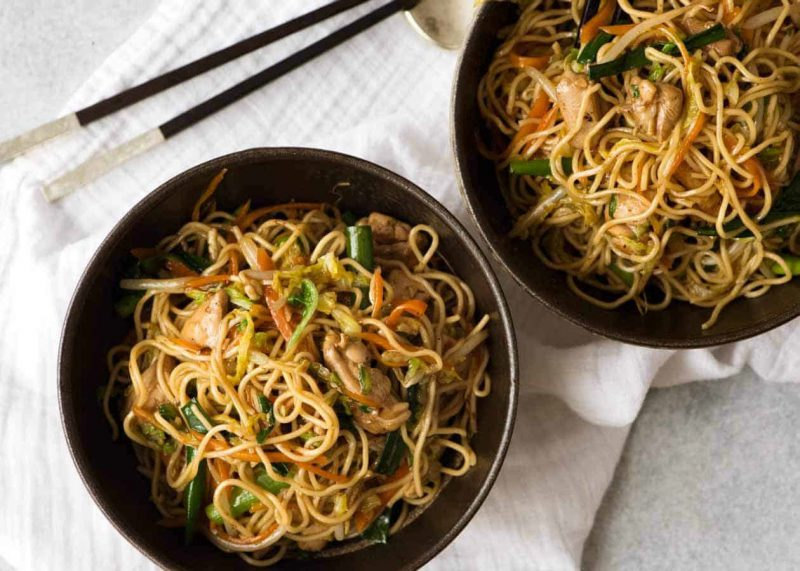 Start Your Healthy New Year with this Delicious Chicken Teriyaki Noodle Recipe