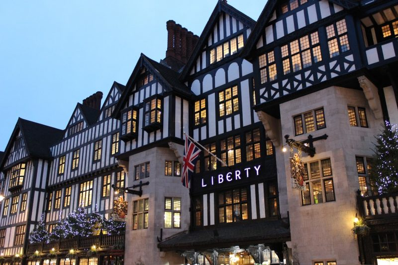 Liberty's the chosen resort of the artistic shopper
