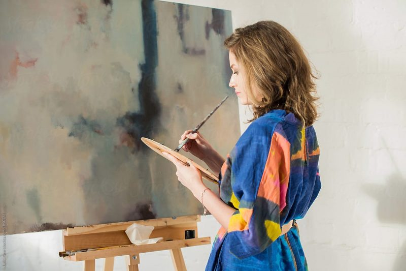 THE COURAGE TO PICK UP THE BRUSH – IS PAINTING A CHALLENGE YOU WOULD PURSUE?